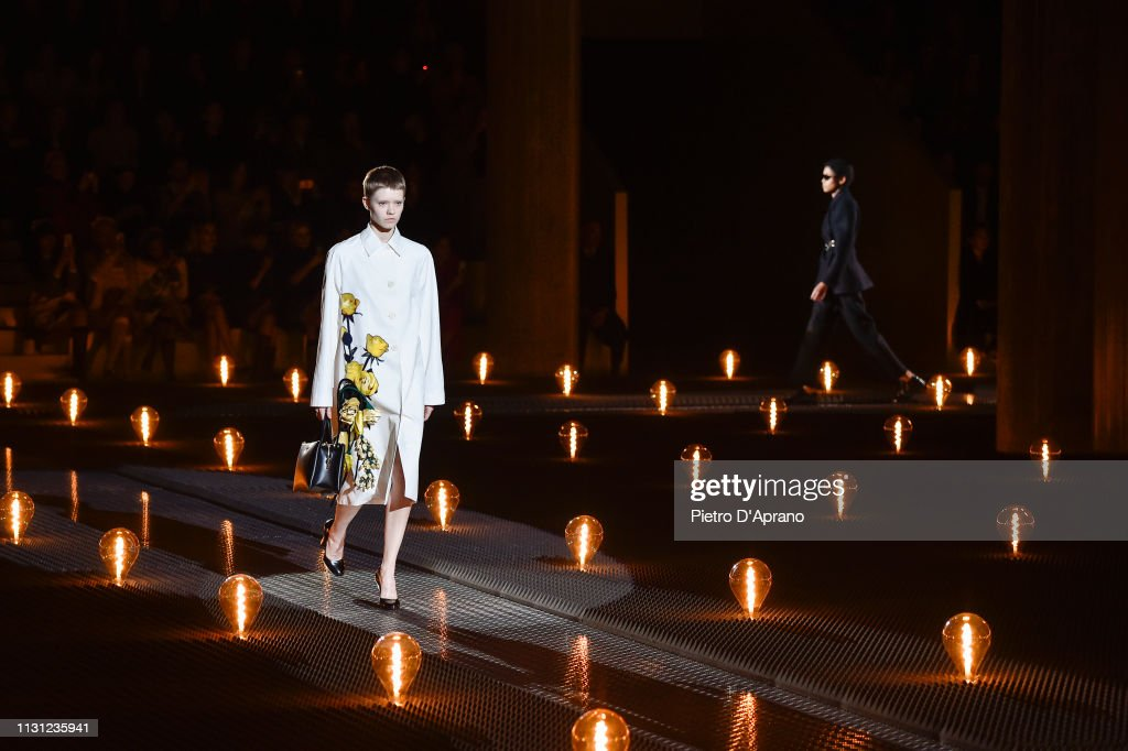 Prada - Runway: Milan Fashion Week Autumn/Winter 2019/20 : ニュース写真