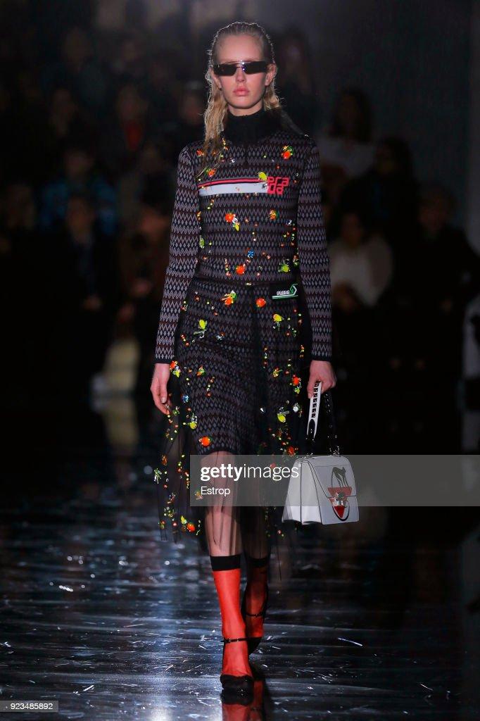Prada - Runway - Milan Fashion Week Fall/Winter 2018/19 : News Photo