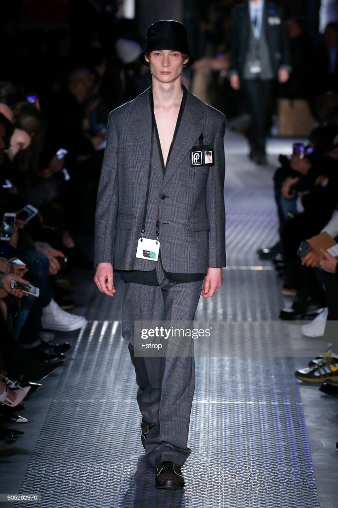 Prada - Runway - Milan Men's Fashion Week Fall/Winter 2018/19 : ニュース写真