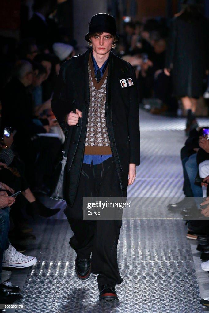 Prada - Runway - Milan Men's Fashion Week Fall/Winter 2018/19 : ニュース写真
