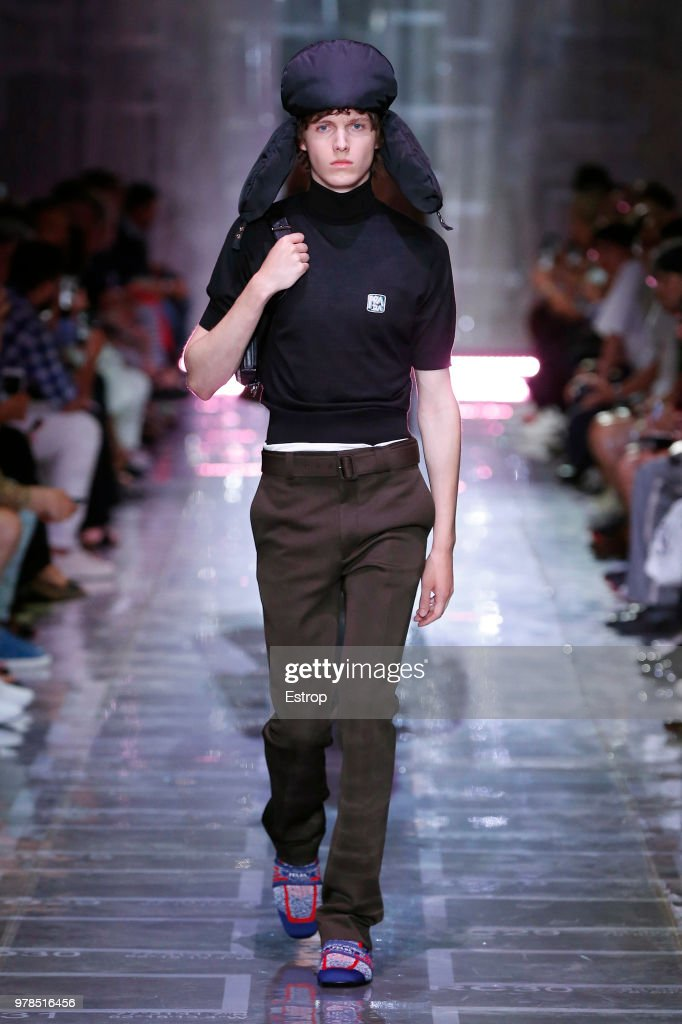 Prada - Runway - Milan Men's Fashion Week Spring/Summer 2019 : ニュース写真