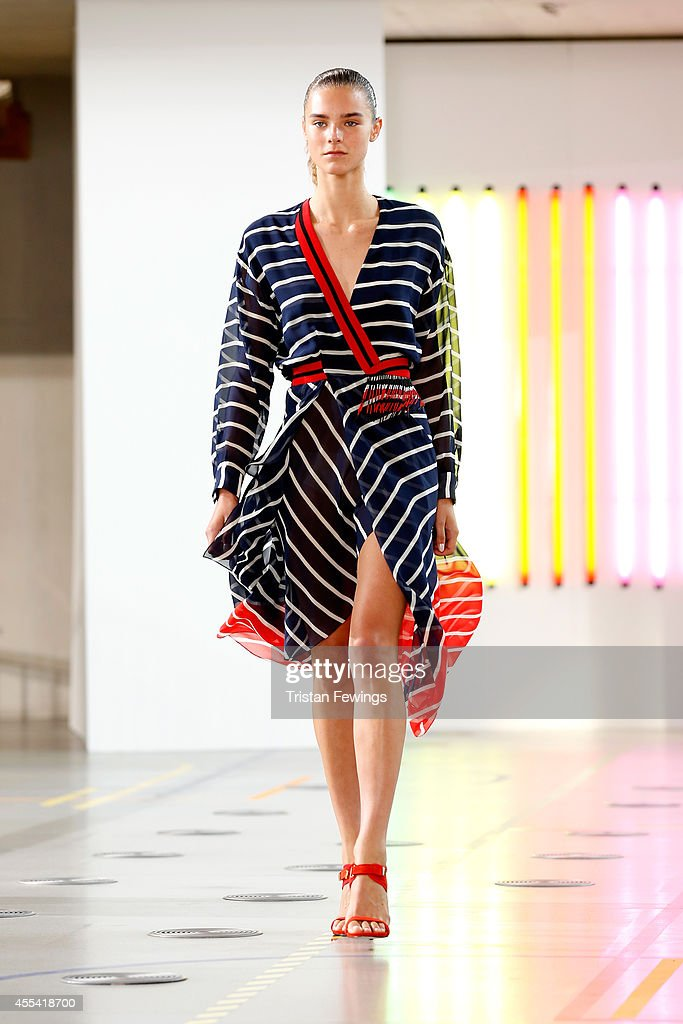 Preen By Thornton Bregazzi: Runway - London Fashion Week SS15 : News Photo