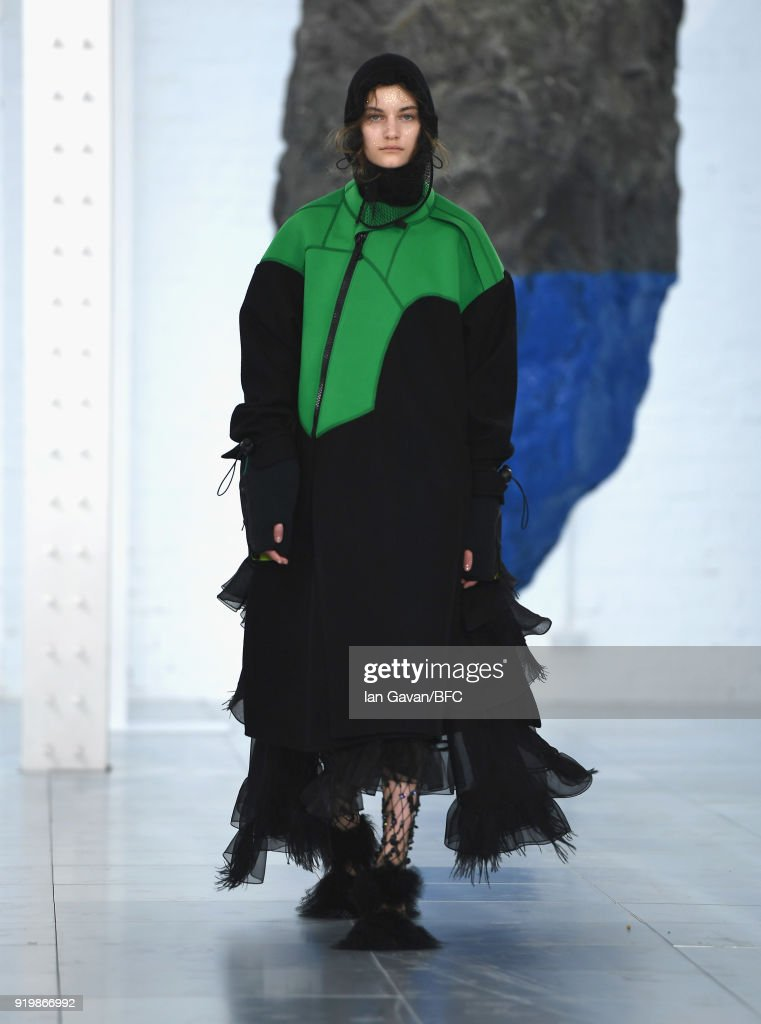 Preen by Thornton Bregazzi - Runway - LFW February 2018