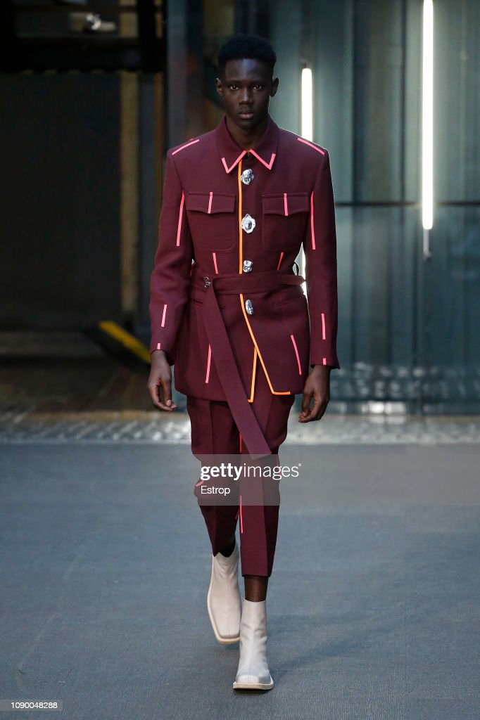 Pronounce - Runway - LFWM January 2019 : ニュース写真