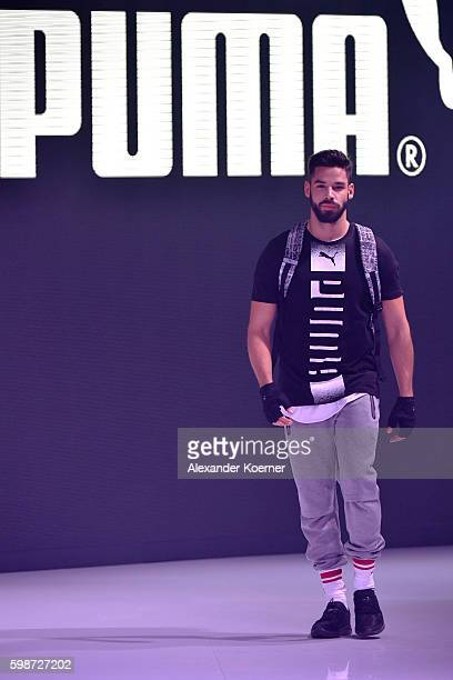 Model walks the runway at the Puma fashion show during the Bread & Butter by Zalando at arena Berlin on September 2, 2016 in Berlin, Germany.