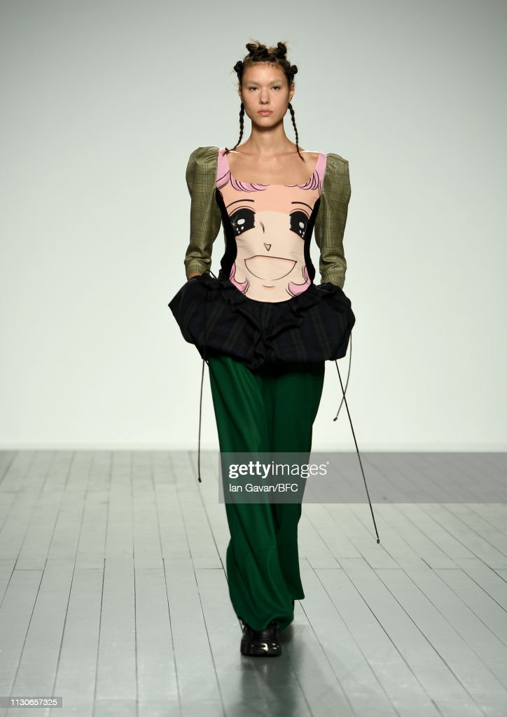 GBR: Push Button - Runway - LFW February 2019