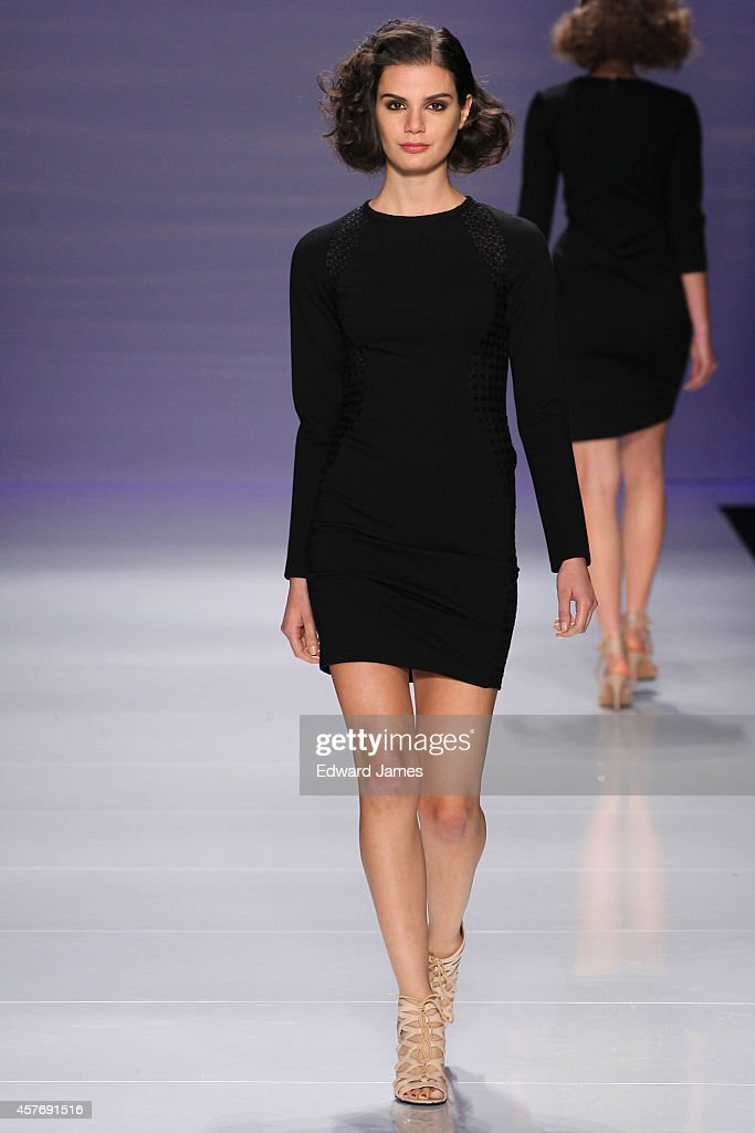 World MasterCard Fashion Week: Spring 2015 Collections - Toronto : News Photo