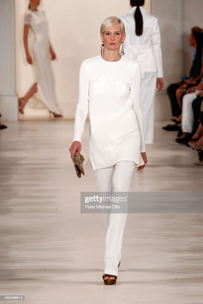 Ralph Lauren - Runway - Mercedes-Benz Fashion Week Spring 2015 : News Photo