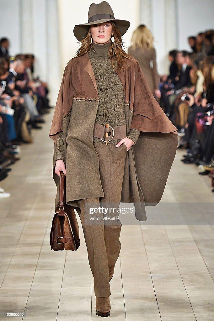 Ralph Lauren - Runway - Mercedes-Benz Fashion Week Fall 2015 : News Photo