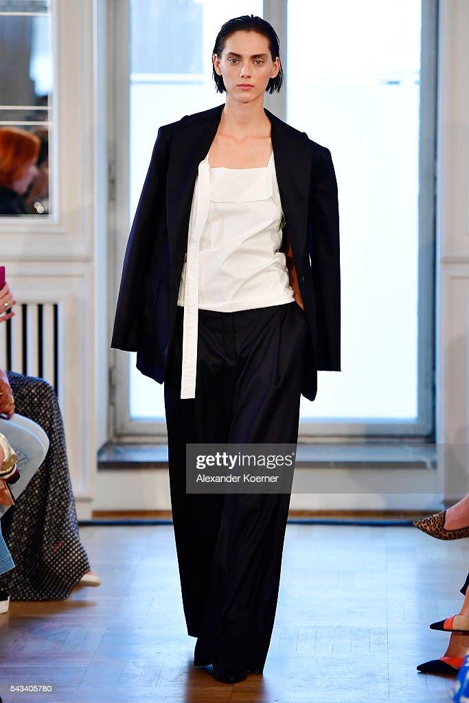 Rene Storck Show - Mercedes-Benz Fashion Week Berlin Spring/Summer 2017 : News Photo