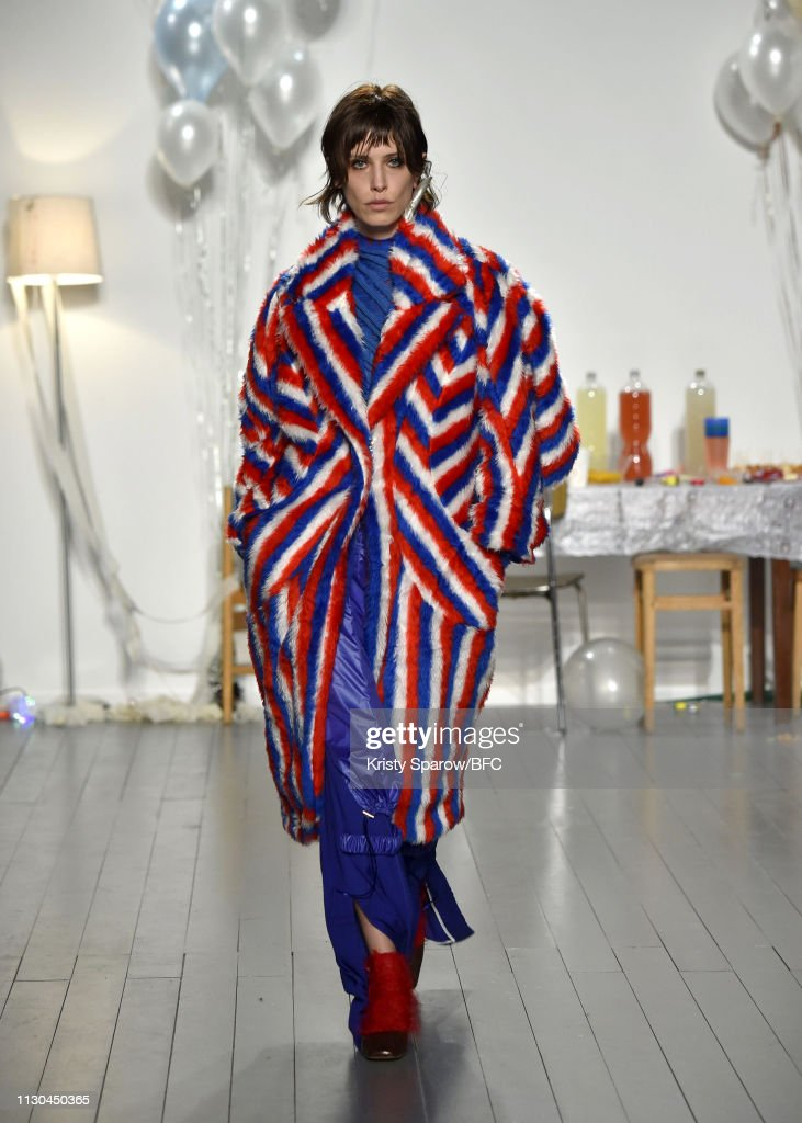 GBR: Richard Malone - Runway - LFW February 2019