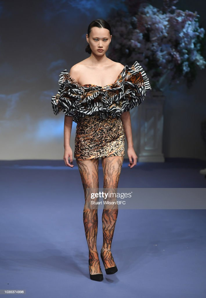 Richard Quinn - Runway - LFW September 2018