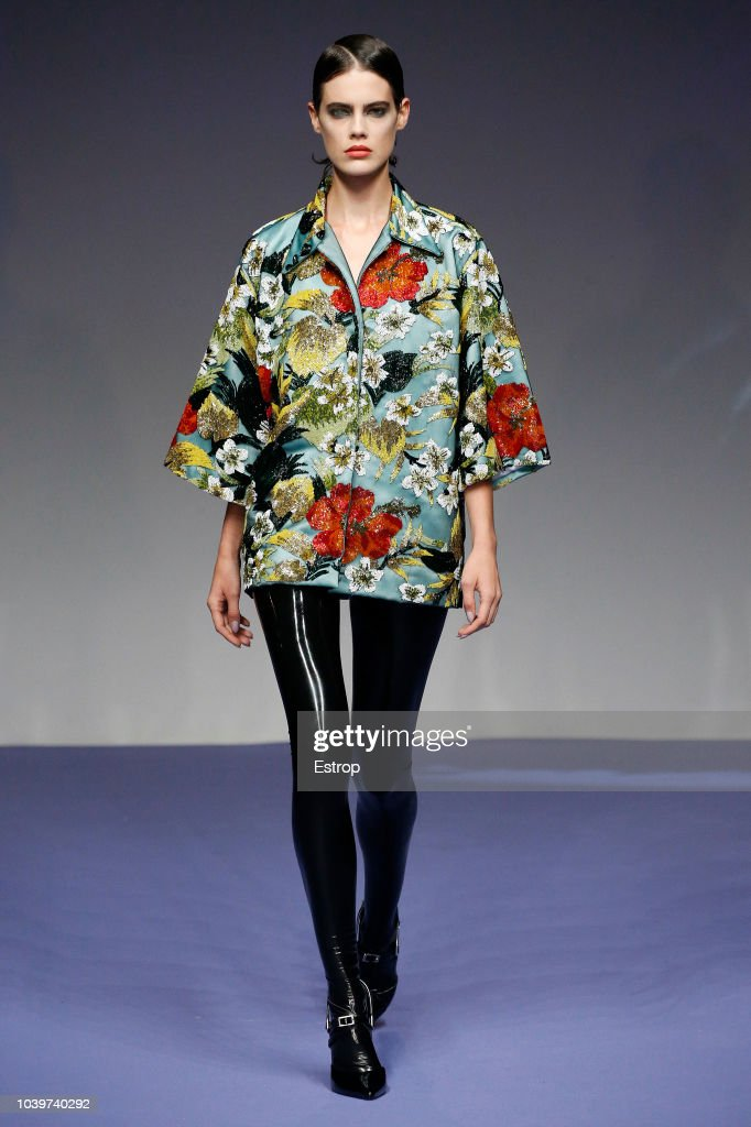 Richard Quinn - Runway - LFW September 2018 : ニュース写真