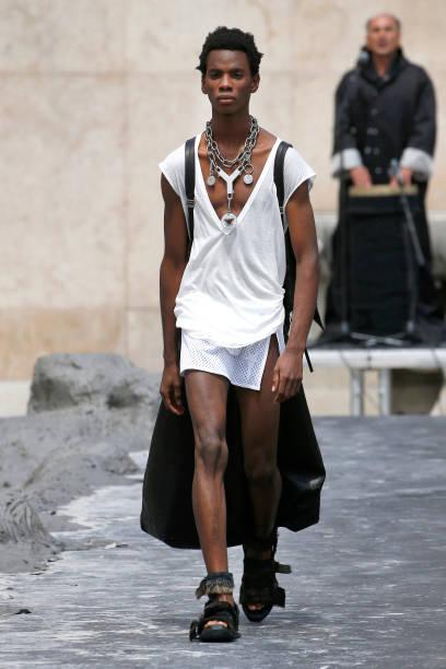 FRA: Rick Owens : Runway - Paris Fashion Week - Menswear Spring/Summer 2020