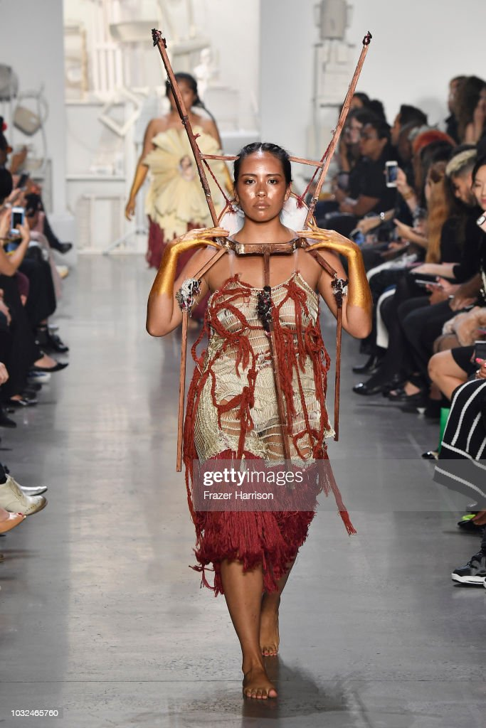 RISD - Runway - September 2018 - New York Fashion Week: The Shows : News Photo