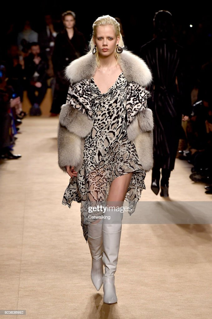Roberto Cavalli - Runway RTW - Fall 2018 - Milan Fashion Week