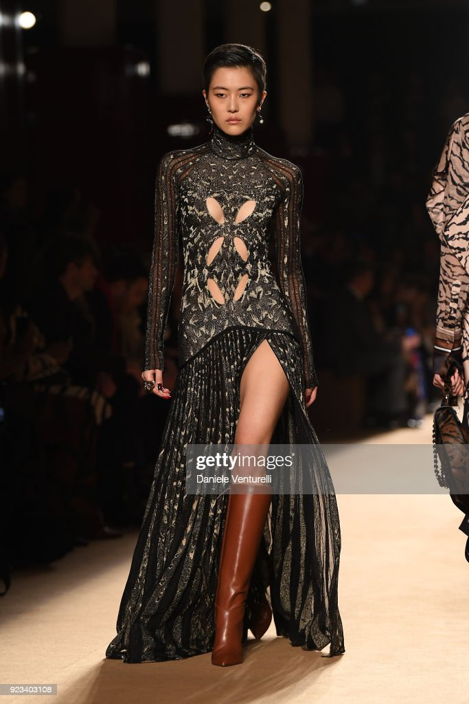 Roberto Cavalli - Runway - Milan Fashion Week Fall/Winter 2018/19