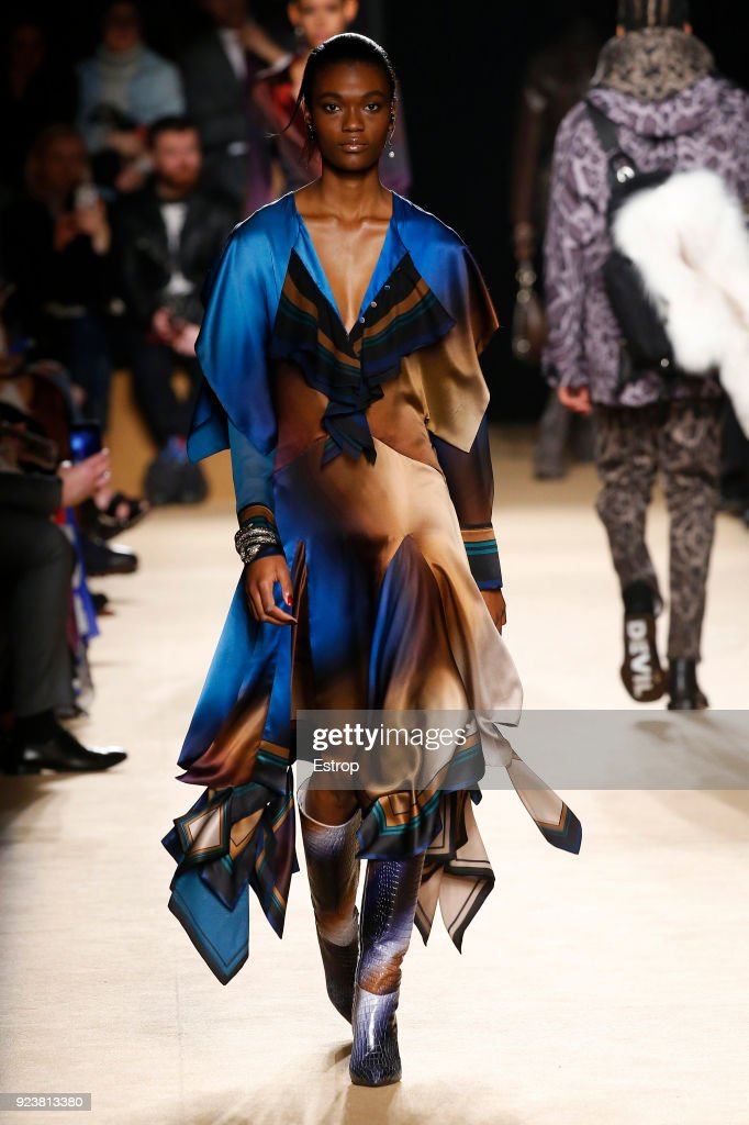 Roberto Cavalli - Runway - Milan Fashion Week Fall/Winter 2018/19 : ニュース写真