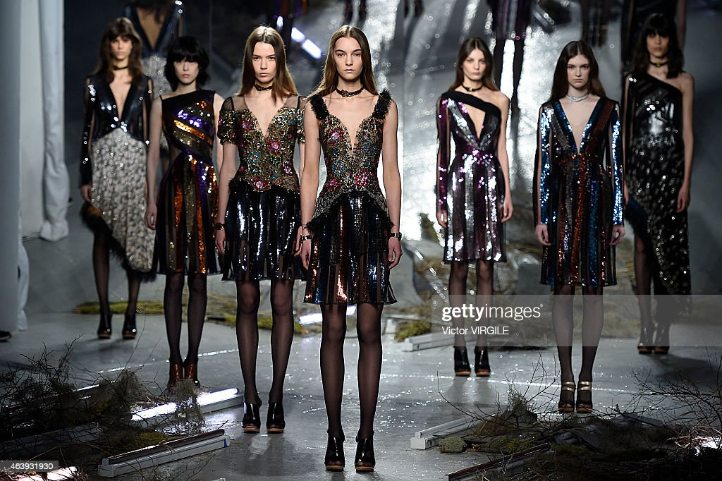 Rodarte - Runway - Mercedes-Benz Fashion Week Fall 2015 : News Photo