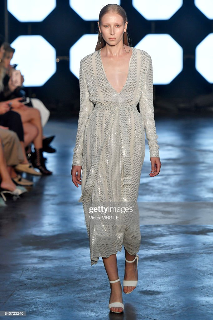 Sally Lapointe - Runway - September 2017 - New York Fashion Week : Nieuwsfoto's