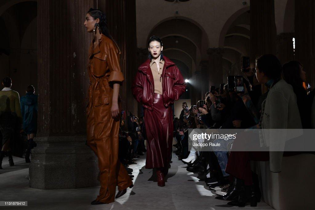 Salvatore Ferragamo - Runway: Milan Fashion Week Autumn/Winter 2019/20 : News Photo