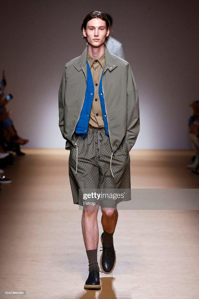 Salvatore Ferragamo - Runway - Milan Fashion Week Spring/Summer 2019 : Photo d'actualité