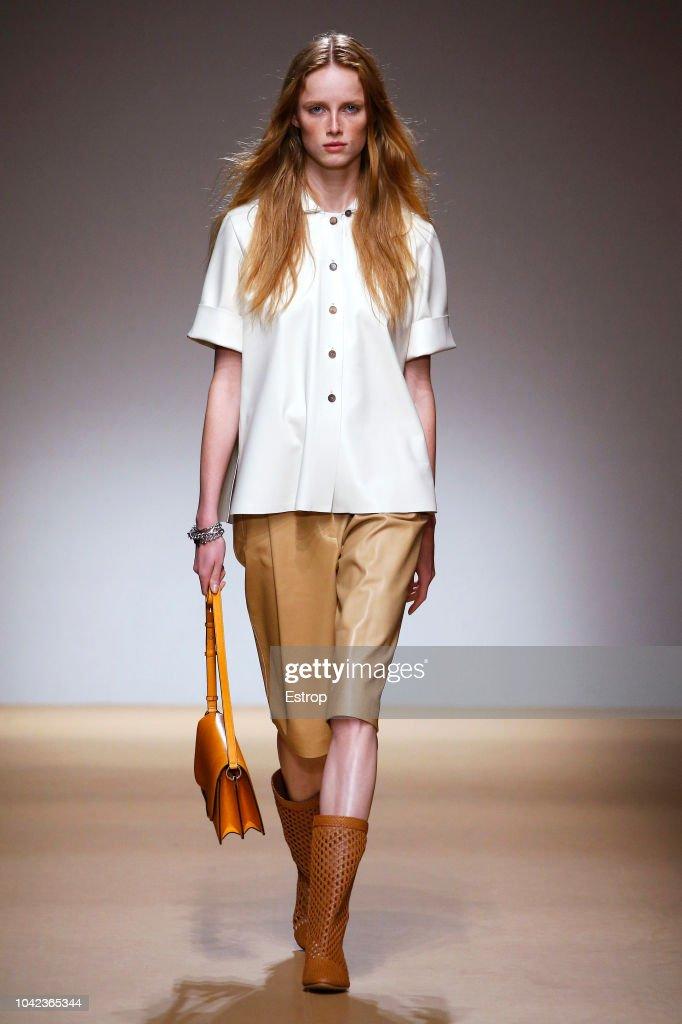 Salvatore Ferragamo - Runway - Milan Fashion Week Spring/Summer 2019 : ニュース写真