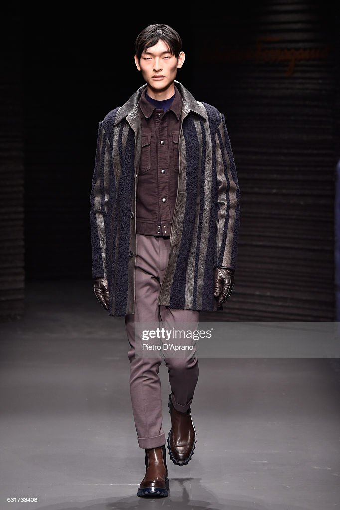 Salvatore Ferragamo - Runway - Milan Men's Fashion Week Fall/Winter 2017/18 : News Photo