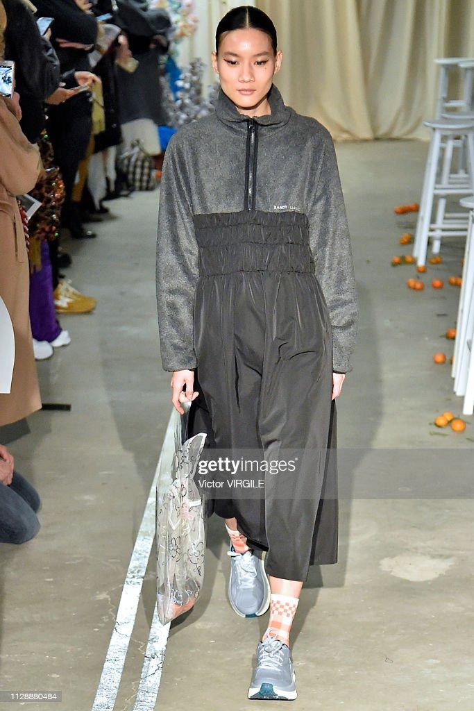 Sandy Liang - Runway - February 2019 - New York Fashion Week : News Photo