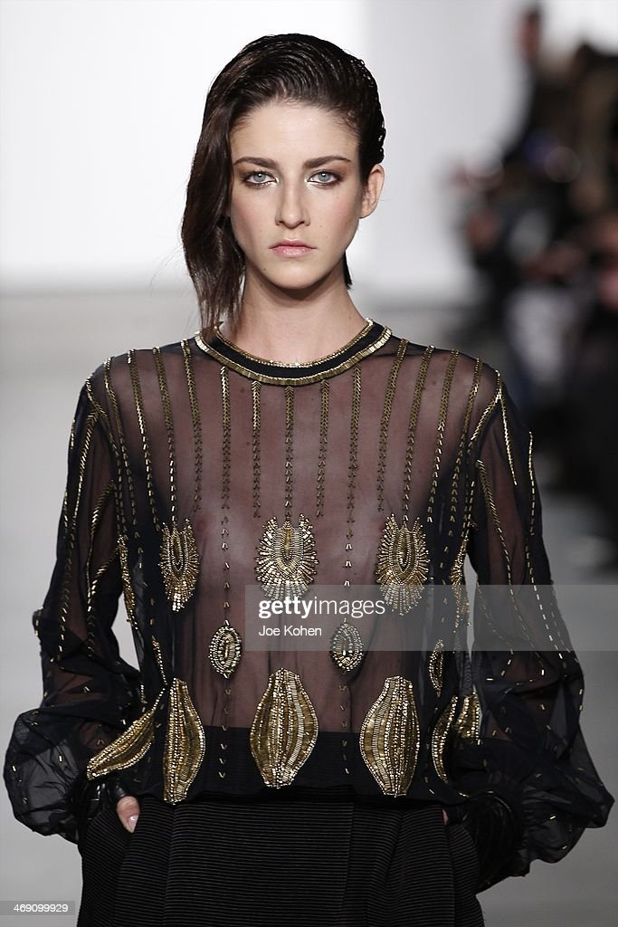 Sass & Bide - Runway - Mercedes-Benz Fashion Week Fall 2014