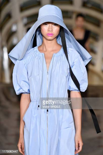 A model walks the runway at the SelfPortrait Ready to Wear Spring/Summer 2020 fashion show during New York Fashion Week on September 07 2019 in New...