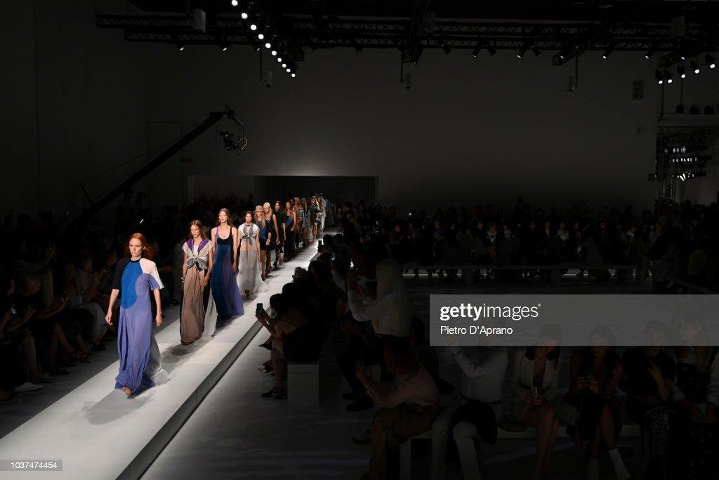 Sportmax - Runway - Milan Fashion Week Spring/Summer 2019 : ニュース写真