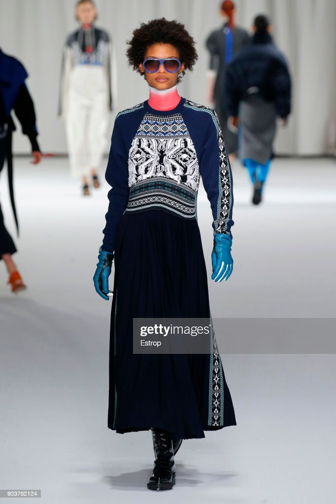 Sportmax - Runway - Milan Fashion Week Fall/Winter 2018/19 : ニュース写真
