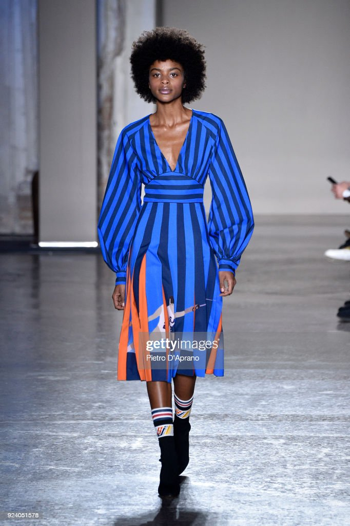 Stella Jean - Runway - Milan Fashion Week Fall/Winter 2018/19