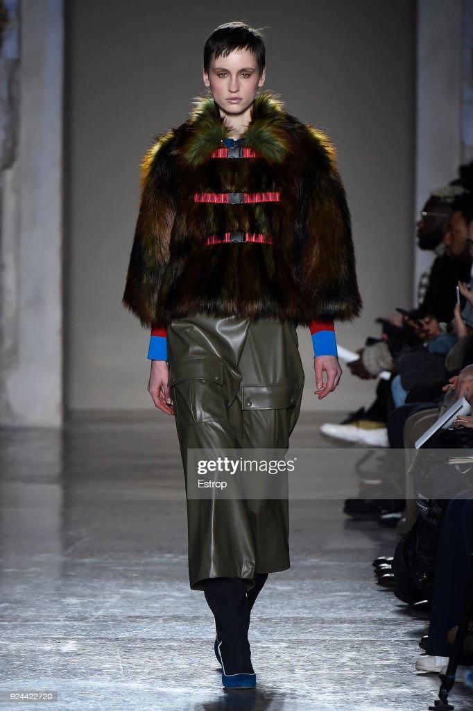 Stella Jean - Runway - Milan Fashion Week Fall/Winter 2018/19 : ニュース写真