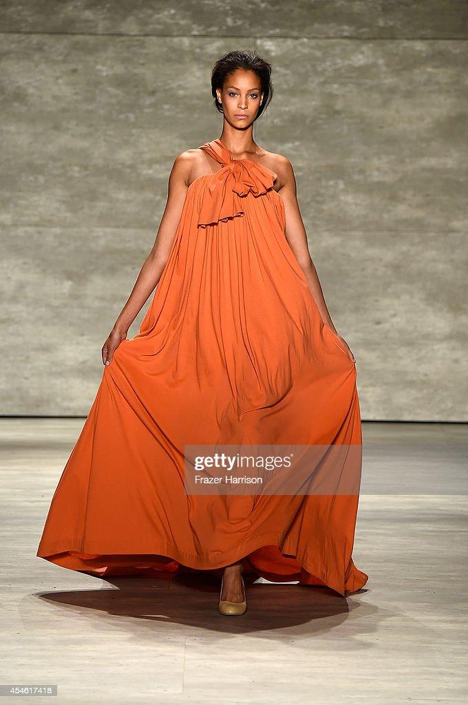 Supima - Runway - Mercedes-Benz Fashion Week Spring 2015 : Nachrichtenfoto