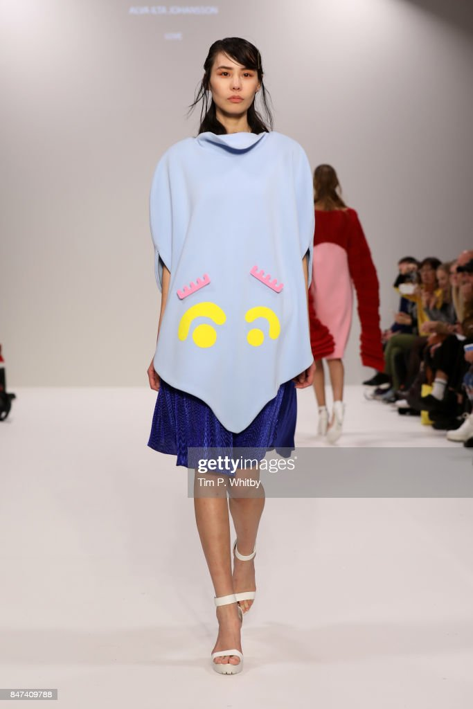 Swedish School of Textiles - Runway - LFW September 2017 : News Photo