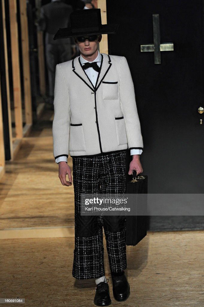Thom Browne - Mens Fall Winter 2013 Runway - Paris Menswear Fashion Week