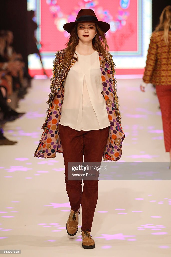 Thomas Rath Show - Platform Fashion January 2017 : News Photo