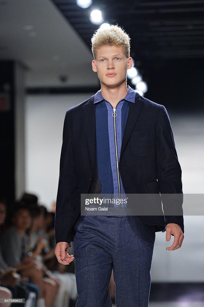 NY: Timo Weiland - Runway - New York Fashion Week: Men's S/S 2017