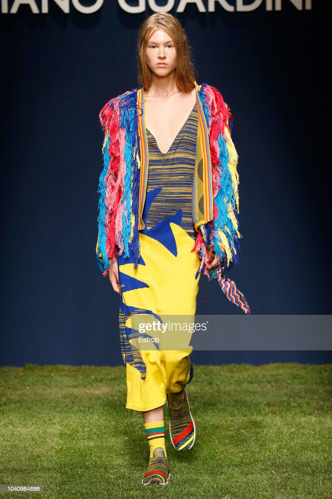 Tiziano Guardini - Runway - Milan Fashion Week Spring/Summer 2019 : ニュース写真