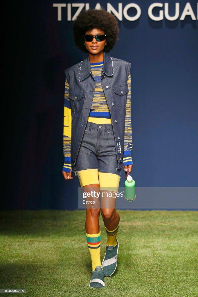 Tiziano Guardini - Runway - Milan Fashion Week Spring/Summer 2019 : ニュース写真