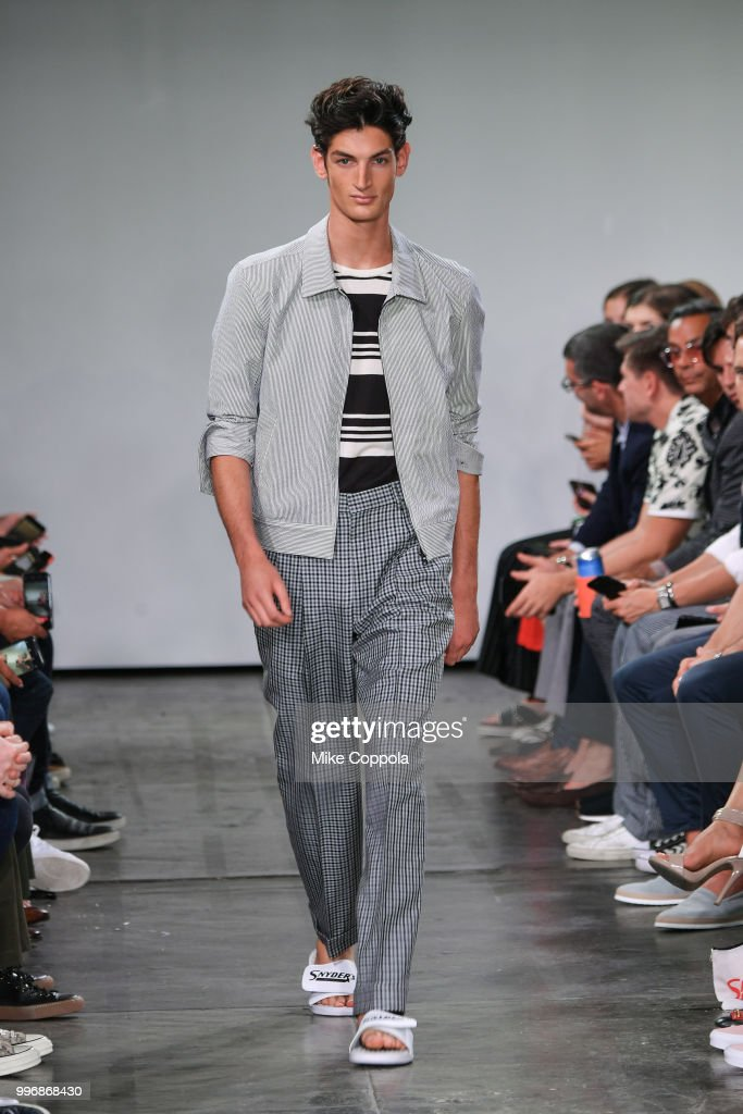 Todd Snyder - Runway - July 2018 New York City Men's Fashion Week : ニュース写真