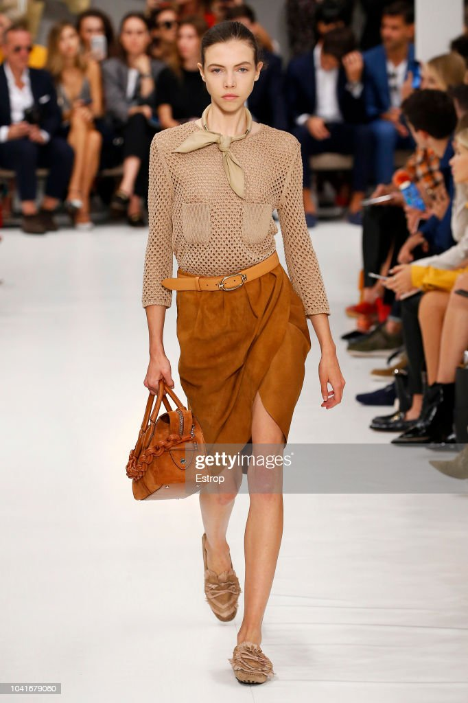 Tod's - Runway - Milan Fashion Week Spring/Summer 2019 : Nachrichtenfoto