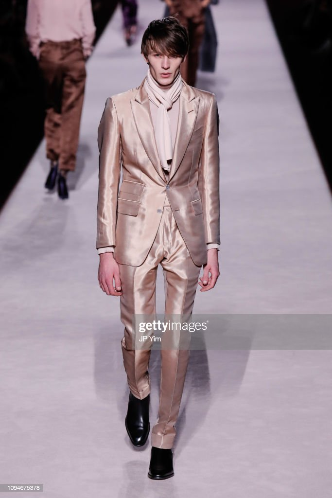 Tom Ford FW 2019 - Runway - New York Fashion Week: The Shows : ニュース写真