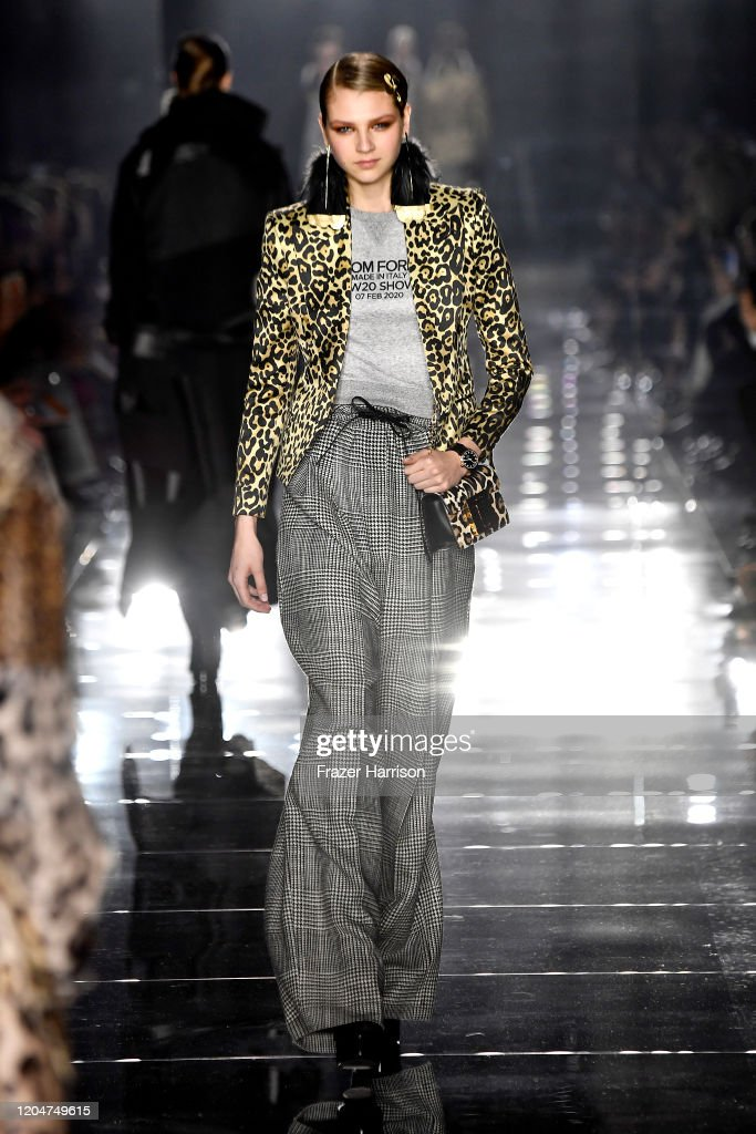 Tom Ford AW20 Show - Runway : Nieuwsfoto's