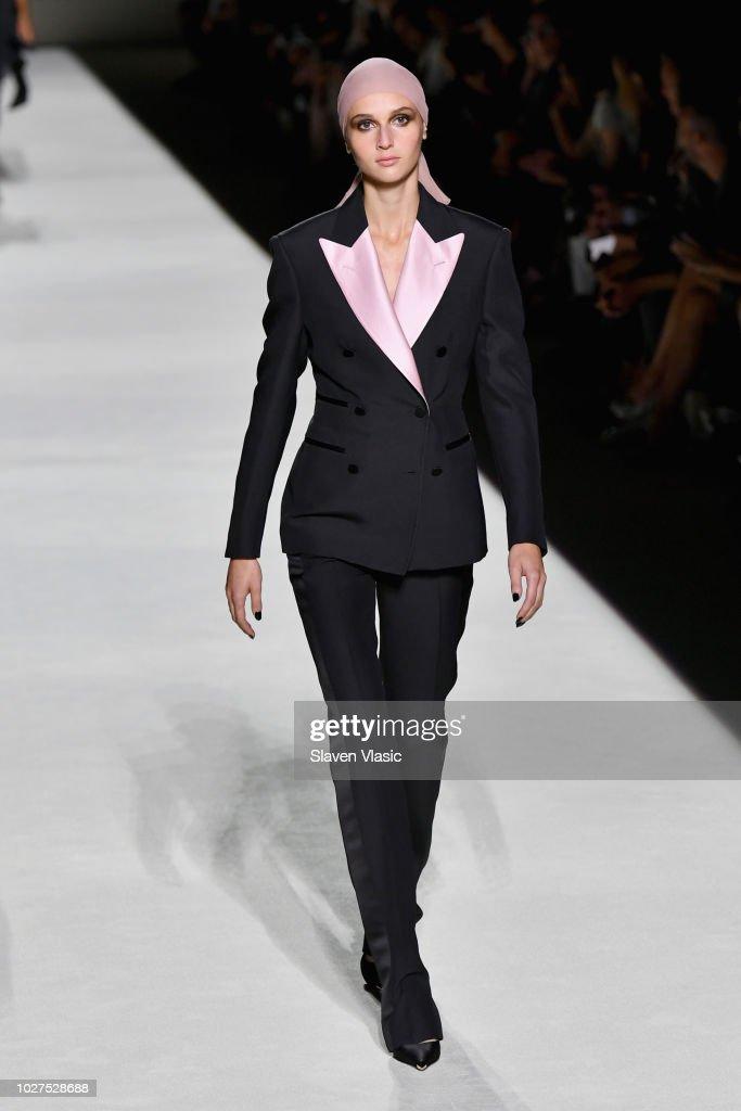 Tom Ford - Runway - September 2018 - New York Fashion Week : News Photo