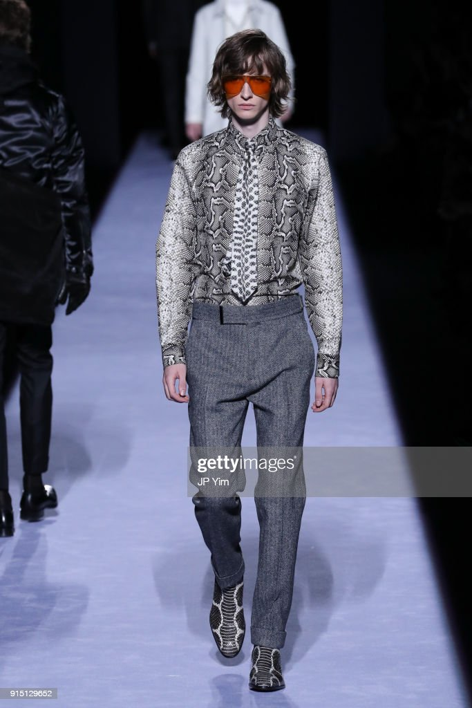 Tom Ford Men's - Runway - February 2018 - New York Fashion Week : ニュース写真