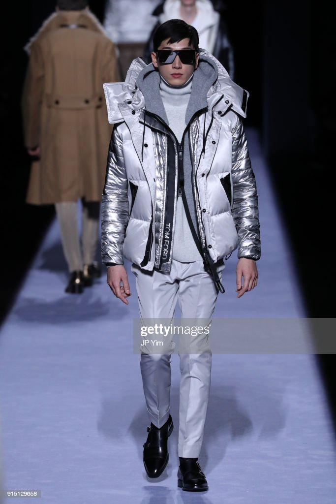Tom Ford Men's - Runway - February 2018 - New York Fashion Week : ニュース写真