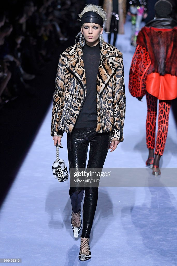 Tom Ford - Runway - February 2018 - New York Fashion Week : News Photo